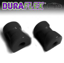 BMW E30 Front Anti Roll Bar - 18 - 24mm - PAIR in BLACK Duraflex EXTREME